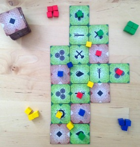 Game in progress with 4 players